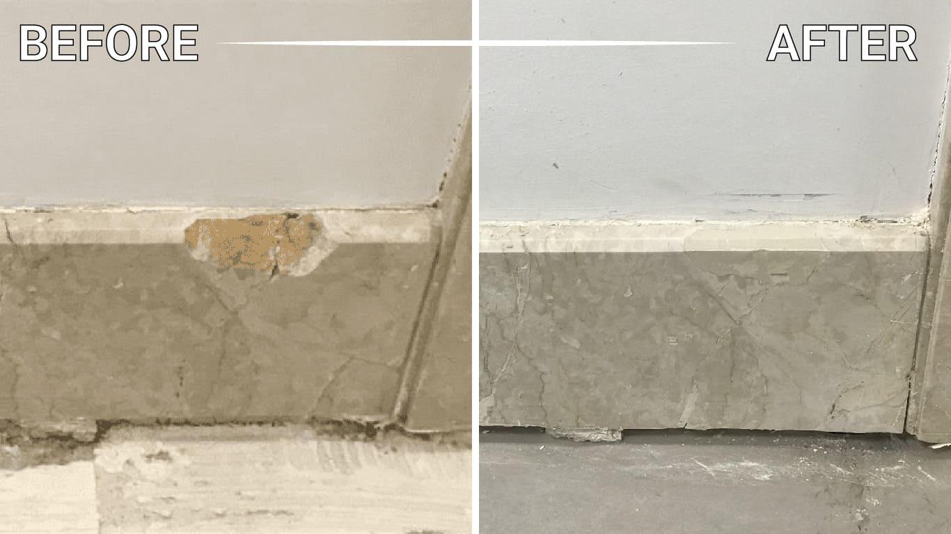 install marble slabs mosaic floor shower table vanity backsplash foyer washroom