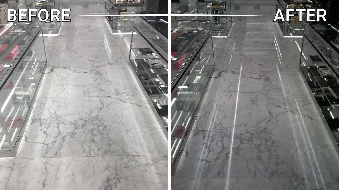 marble countertop polishing restoration refinishing repair cleaning sealing installation