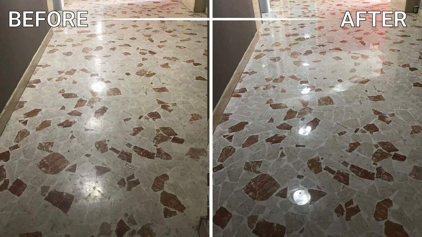 refinish onyx floor counter countertop vanity table backsplash