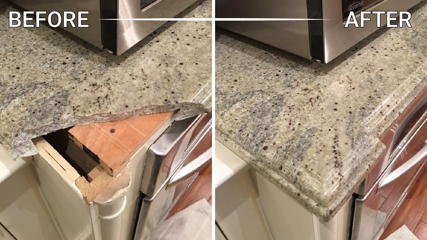 seal granite floor counter countertop vanity table backsplash